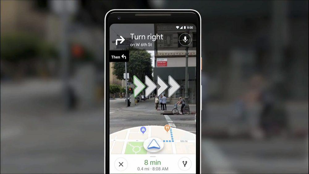 AR навигацията в Google Maps вече е налична за някои потребители