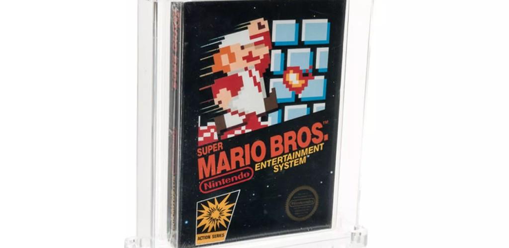 Неотваряно копие на Super Mario Bros се превърна в най-скъпо продадената видео игра