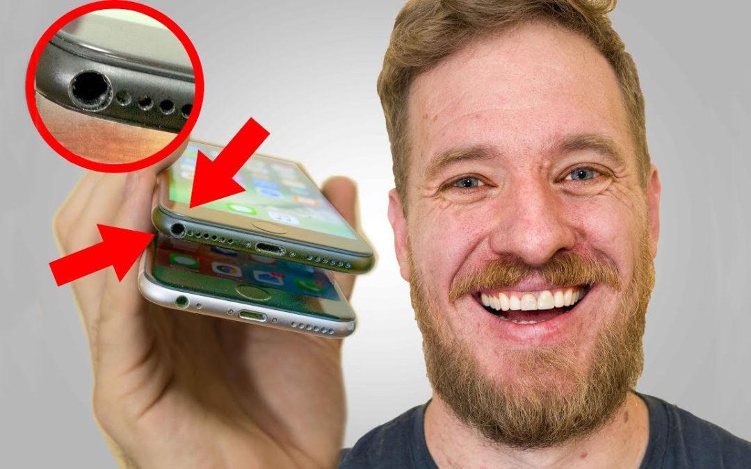 Ентусиаст монтира на iPhone 7 жак за слушалки