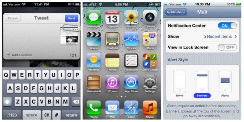 iPhone OS 5