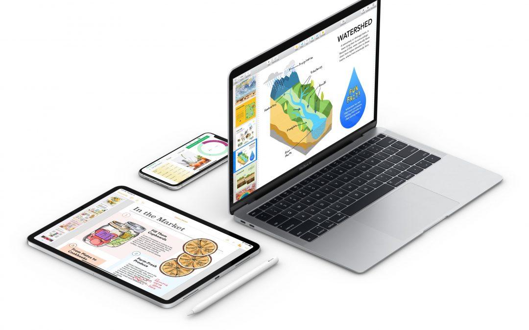 Pages, Numbers и Keynote за Mac получиха голям ъпдейт