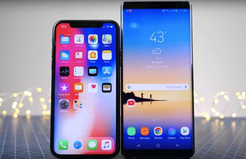 iphone-x-galaxy-note-8