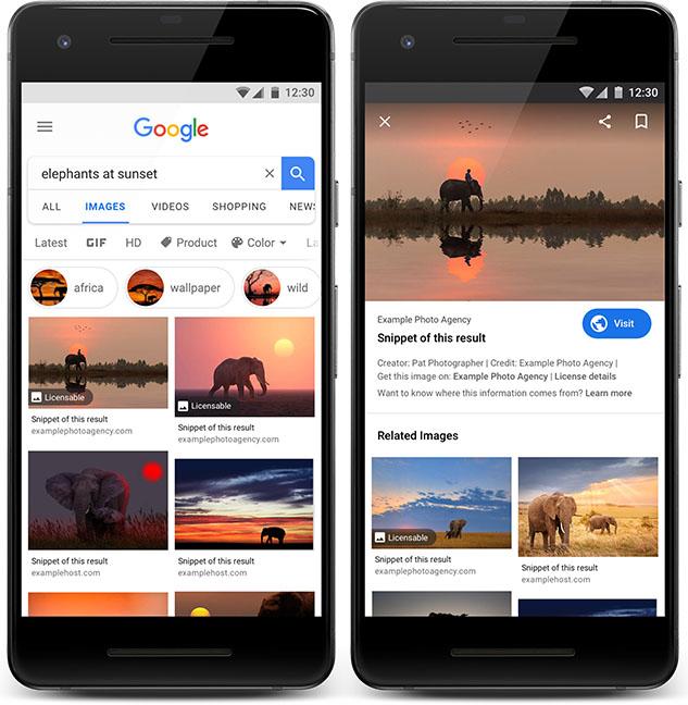 Новите баджове на Google ще помогнат на фотографите да продават снимките си