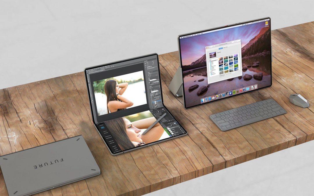 Вижте една наистина интересна концепция за сгъваемо устройство на Apple