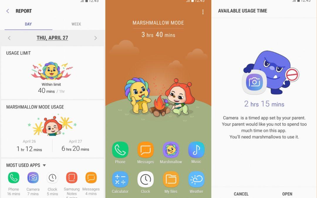 Най-новото приложение на Samsung ще ви помогне да намалите зависимостта на детето си от мобилните устройства
