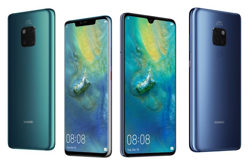 Huawei е доставила 10 милиона смартфона от серията Mate 20