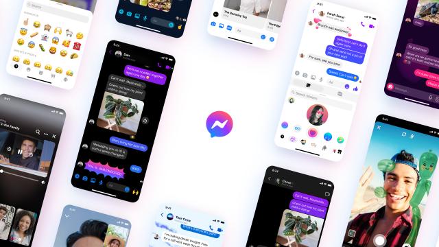 Facebook Messenger получи ново лого и дизайн