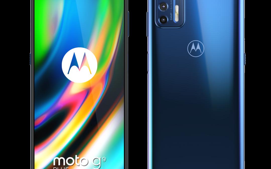 Новият смартфон moto g9 plus се отличава с професионална камера и голям дисплей