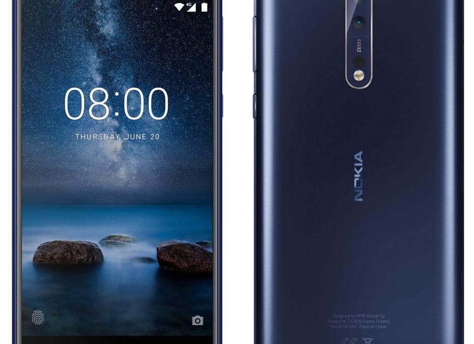 Nokia 8 позира в пълния си блясък