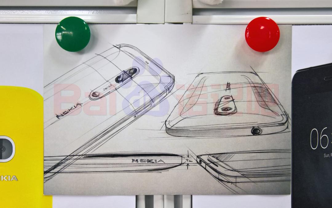Скица на бъдещите Nokia 7 и 8 разкрива камера Carl Zeiss