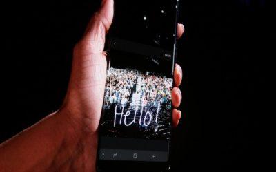Бъдещите модели Galaxy ще извличат биометрична информация от дланта ви