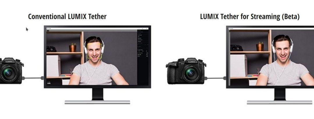 """Panasonic пуска софтуер за персонален компютър """"LUMIX Tether for Streaming (Beta)"""""""