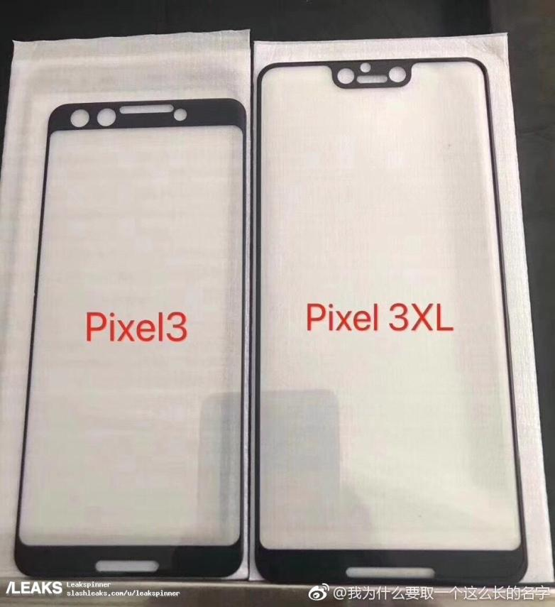 pixel-3-vs-pixel-3-xl-screen-protectors-leak