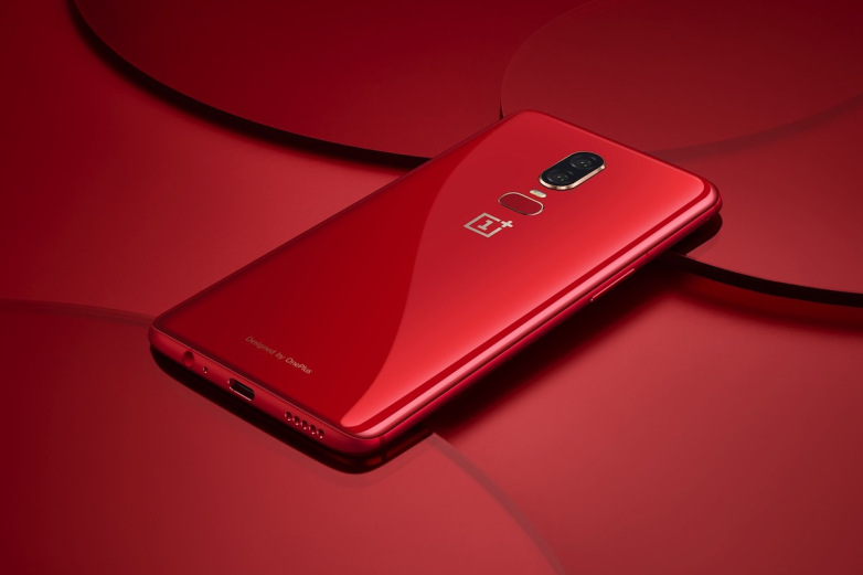 red-oneplus-6