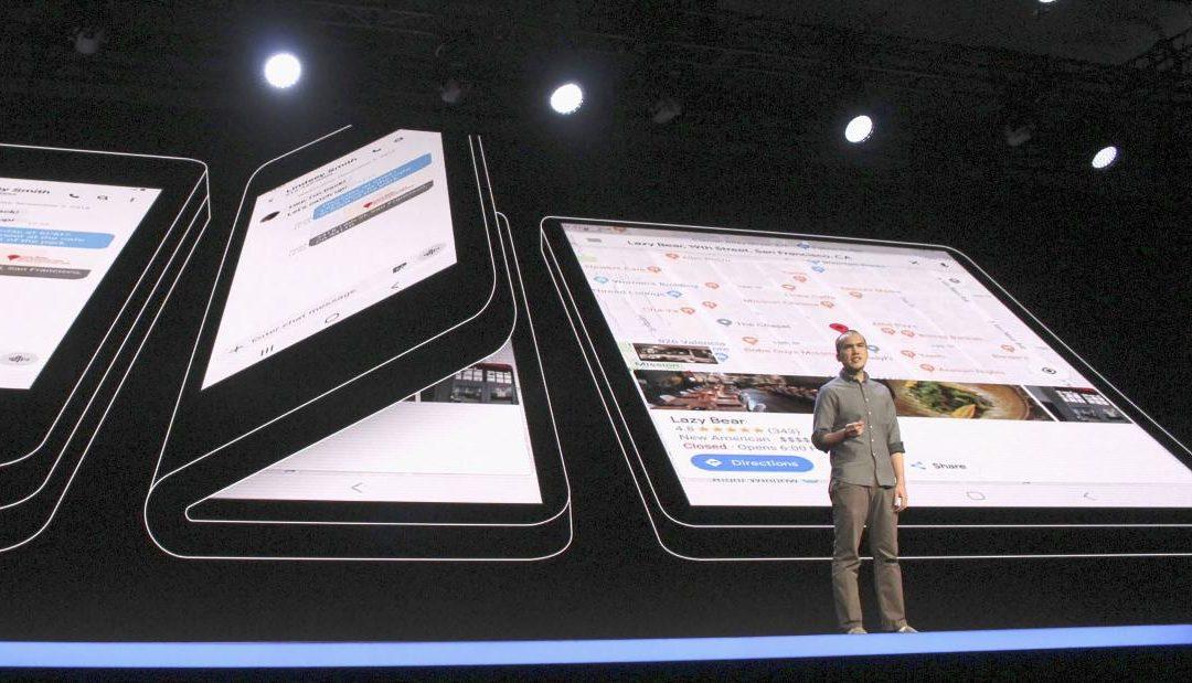 Технологията на сгъваемия екран на Samsung е била открадната и продадена в Китай