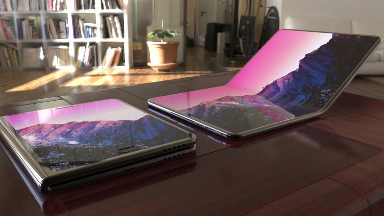Lenovo работи върху 13 инчов таблет със сгъваем екран