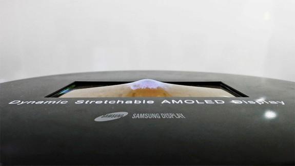 Samsung показа изключителен еластичен дисплей