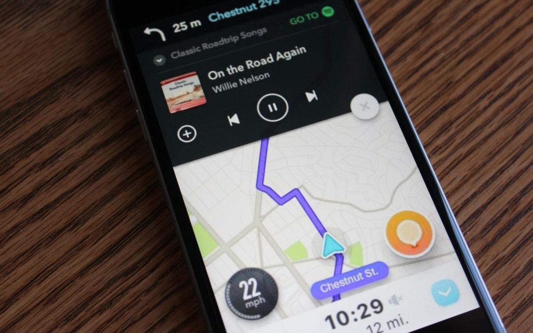 По-голяма интеграция на Waze и Spotify за iOS