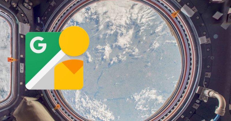 Street View вече ви позволява да надникнете в Международната космическа станция