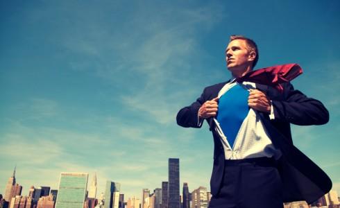 superhero-businessman