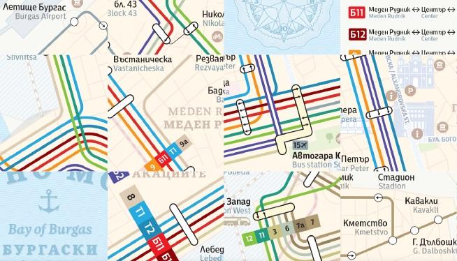 В Бургас създадоха нова обогатена транспортна карта за гражданите и туристите в града