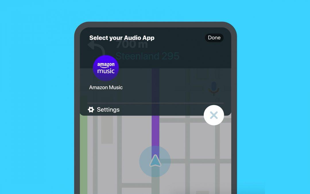Waze включва Amazon Music в приложението си