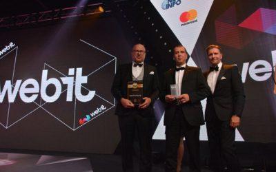 СуперХостинг.БГ е отличен като най-добър cloud хостинг доставчик на Webit Awards