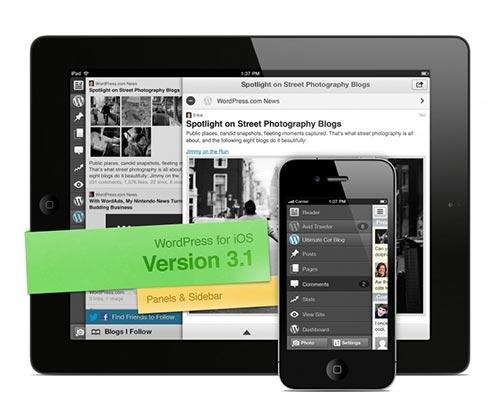WordPress обнови мобилното си приложение за iOS