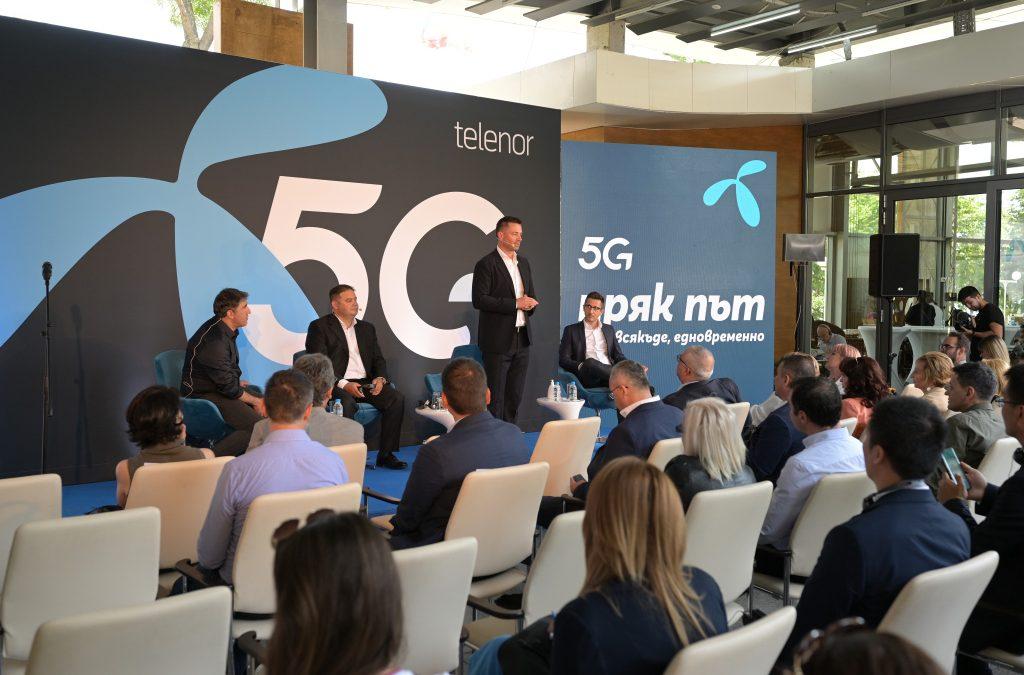 Теленор официално обяви търговския старт на своята 5G услуга в България