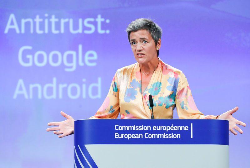 Google получи рекордна глоба от 5 милиарда долара по антитръстово дело срещу Android