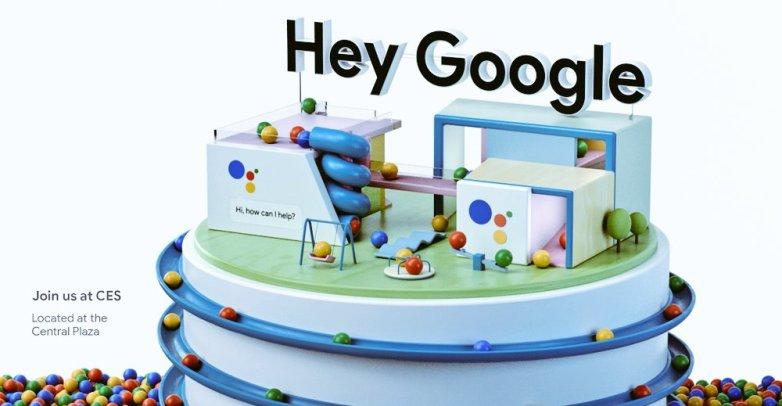 Google превърна Лас Вегас в реклама за CES 2018
