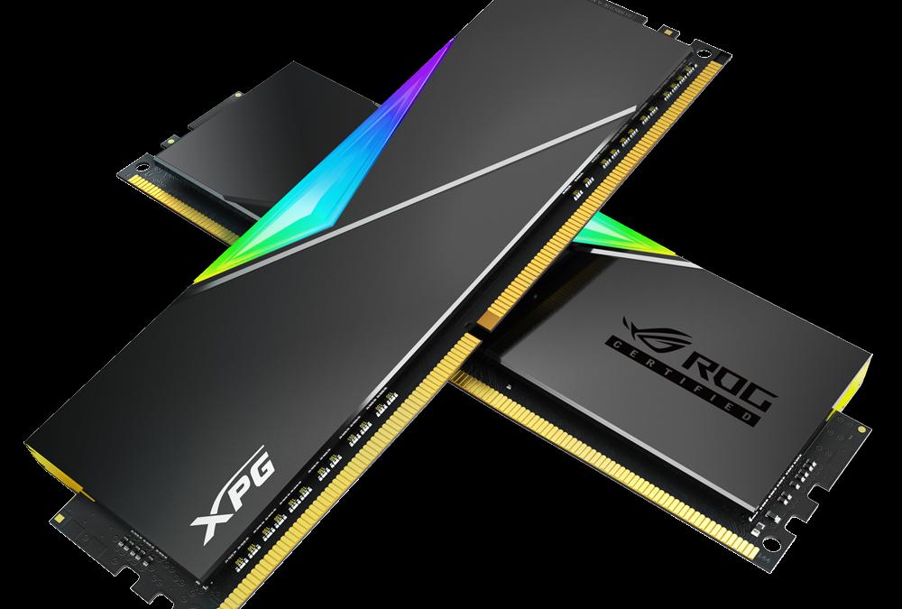 XPG анонсира SPECTRIX D50 ROG-CERTIFIED DDR4 RGB модул памет
