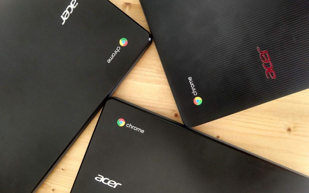 Вече над 5000 Chromebook лаптопа работят в българското образование