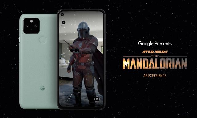 Новото AR приложение на Google води Mandalorian във вашия дом