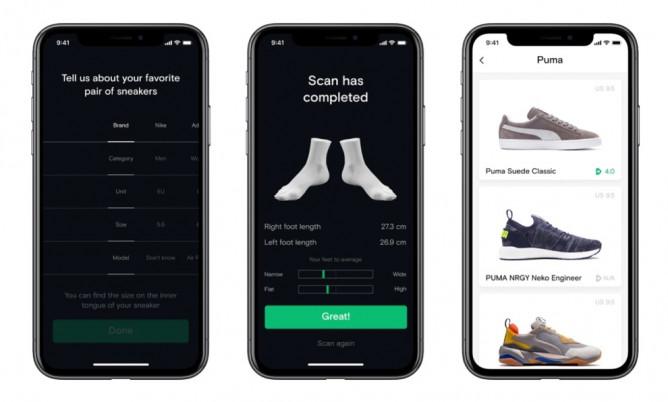 Вече можете да определите точния размер обувки, с помощта на iPhone