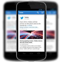Twitter обновиха приложението си за мобилни устройства